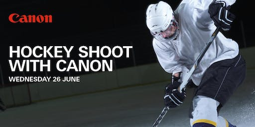 Hockey Shoot with Canon