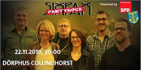 SIXPAX Partyrock Konzert Tickets