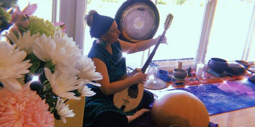 Therapeutic Soundbath @ Yoga Garage in the CHAPEL