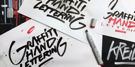 Graffiti-Handlettering | Workshop billets