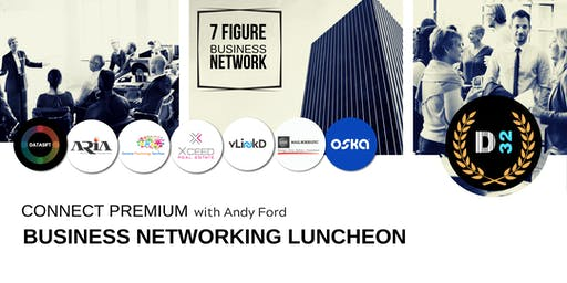 District32 Connect Premium Business Lunch Event - Thu 27th June