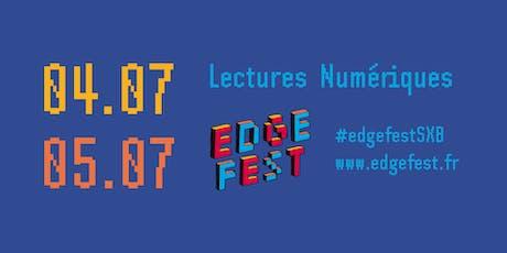 Lecture numérique - Edgefest 2019 billets