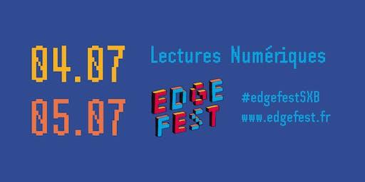 Lecture numérique - Edgefest 2019