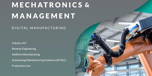 International Summer Academy 2019 - Mechatronics and Management - Digital manufacturing