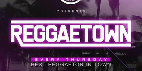 Reggaetown at Otto Zutz Free Guestlist - 8/08/2019 tickets