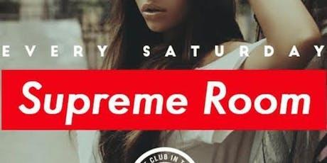Supreme Saturdays at Otto Zutz Free Guestlist - 8/24/2019 entradas