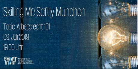KPMG Smart Start: Skilling Me Softly - Arbeitsrecht 101 Tickets