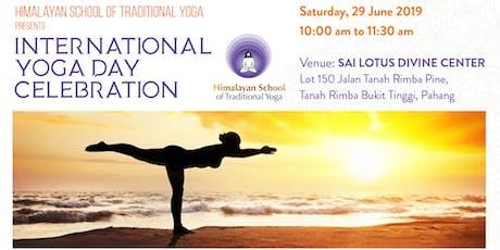 International Yoga Day Celebration with Traditonal Yoga tickets