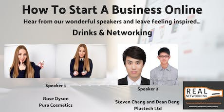 How to Start A Business Online: Real Networking Sheffield tickets