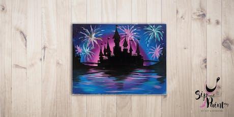 Sip & Paint @ SOULed OUT Ampang : Disney Castle tickets