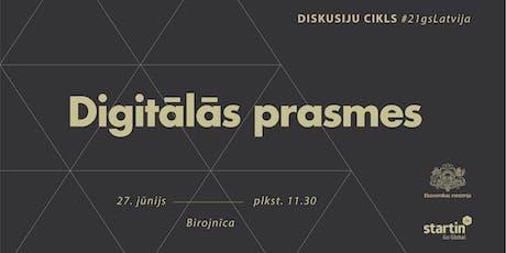 #21gsLatvija: Digitālās prasmes tickets