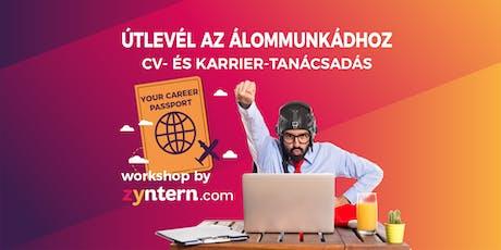 Útlevél az álommunkádhoz - workshop by Zyntern tickets