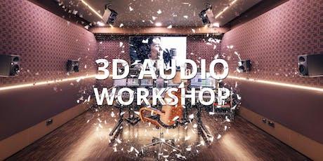 3D AUDIO WORKSHOP - 5.1 war gestern! tickets