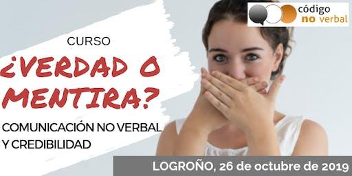 Curso: ¿Verdad o Mentira? Comunicación No Verbal y Credibilidad