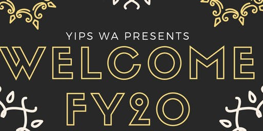 YIPs WA - Welcome FY20