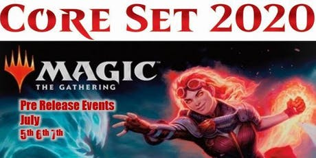 Magic the Gathering Core Set 2020 : 4pm Saturday Afternoon Prerelease tickets