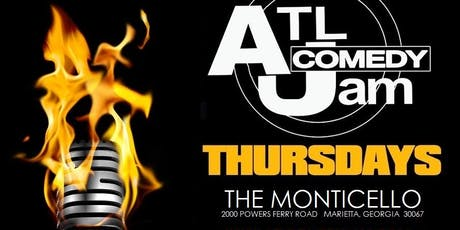 ATL Comedy Jam @ Monticello tickets