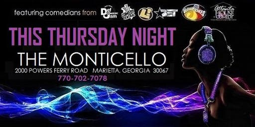 The Comedy Show & After-Party @ Monticello