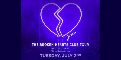 The Broken Hearts Club Tour: gnash w. Anna Clendening