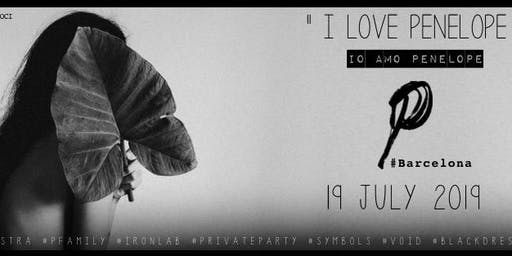 P.party by Penelope Mystra at Iron Lab - Barcelona [private party] only150