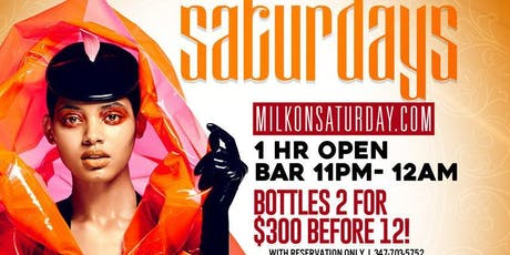 Milk river lounge on Saturdays!!! tickets