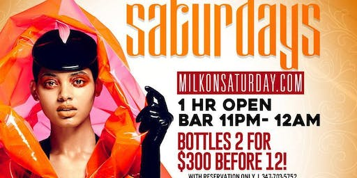 Milk river lounge on Saturdays!!!