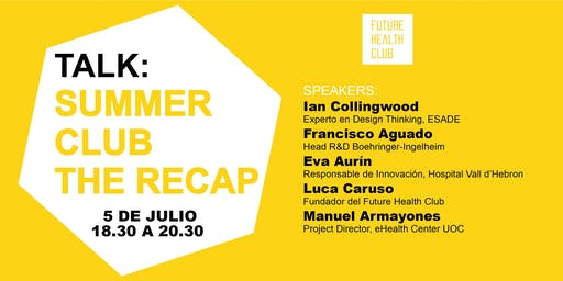 TALK: SUMMER CLUB - THE RECAP