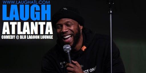 Laugh Atlanta presents Wednesday Comedy at Blu Lagoon