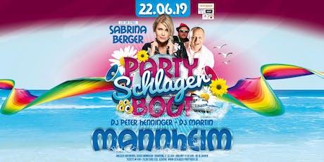 Hossa - Das Schlagerboot - Mannheim Tickets