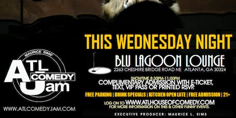 ATL Comedy Jam at The Blu Lagoon Lounge tickets