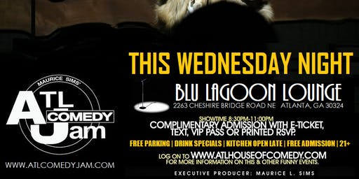ATL Comedy Jam at The Blu Lagoon Lounge