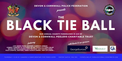 The Black Tie Ball  |  Exeter Castle  |  Devon & Cornwall Police Federation