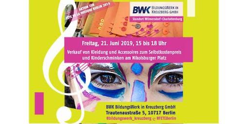 Fete de la musique -Aktion  am BWK-Standort Wilmersdorf-Charlottenburg