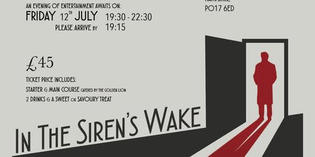 In the Siren's Wake: A D-Day Murder Mystery Evening tickets