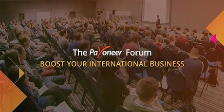 The Payoneer Forum - Odessa tickets
