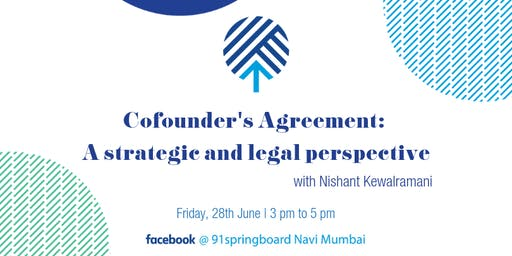 Cofounder's Agreement: A strategic and legal perspective
