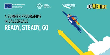 Ready - Steady - Go. A summer programme in Calderdale tickets