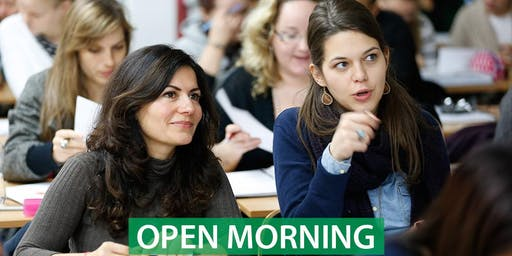 CNM Cork - Free Open Morning