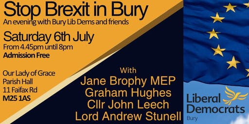 Stop Brexit in Bury