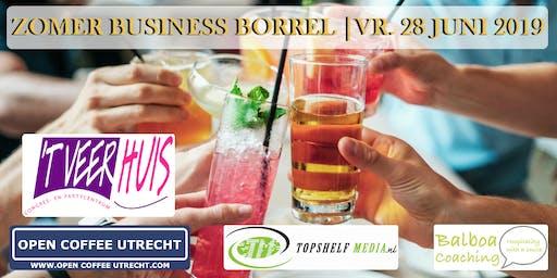 NETWERKEN - ZOMER BORREL | OPEN COFFEE UTRECHT | 28 JUNI 2019