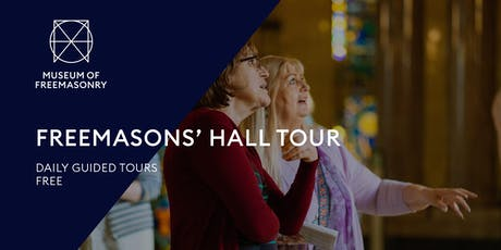 Freemasons' Hall Tour tickets