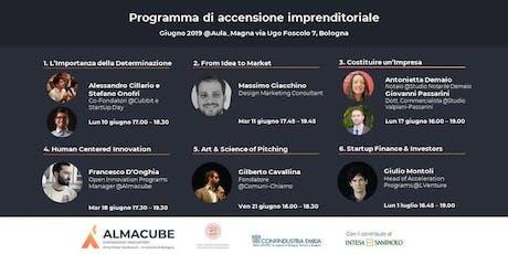 Programma di accensione imprenditoriale | 6° incontro biglietti
