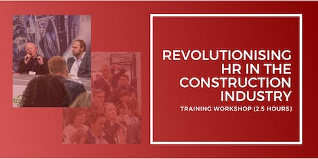 Revolutionising HR in the Construction Industry tickets