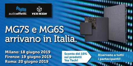 Evento Yes Tech Firenze biglietti