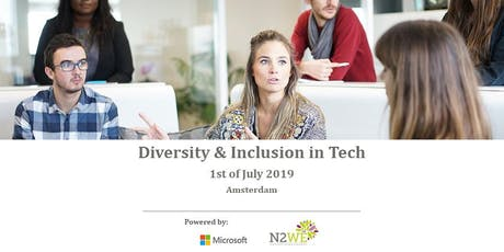 Diversity and Inclusion - Microsoft x N2WE tickets
