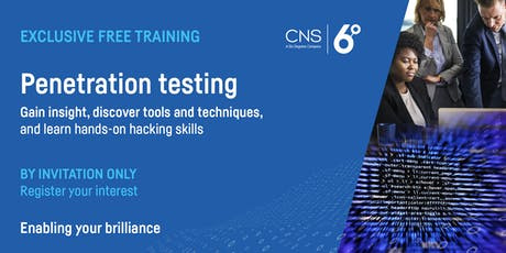 Free Penetration Testing Training tickets