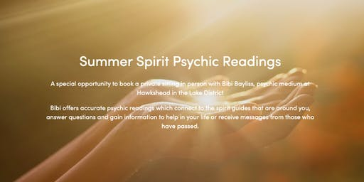 Summer Spirit Psychic Readings