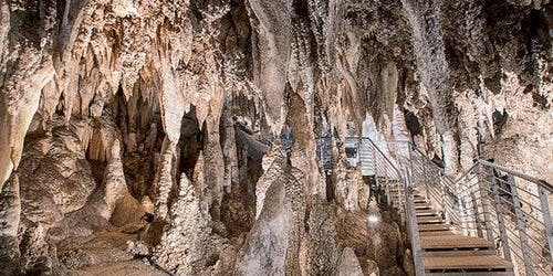 Corchia Caves: Guided Tour + Shuttle from Levigliani