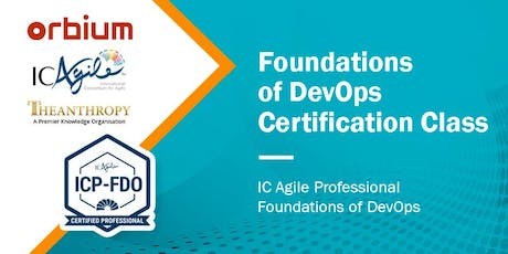 IC Agile - Professional DevOps Foundations Certification tickets