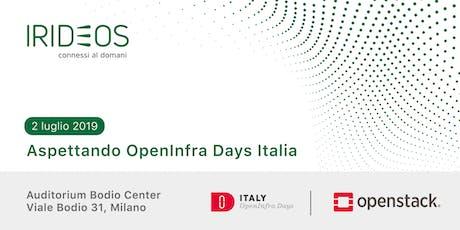 Aspettando OpenInfra Days Italia biglietti